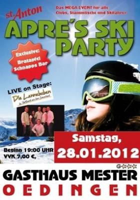 Plakat Apres Ski Party