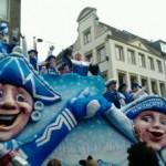 Auch in Düsseldorf gehts blau-weiß - Foto:/Copyright: Isa Tönes
