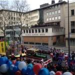 Gute Aussicht von der WDR Tribüne - Foto: Vanessa Klawunder